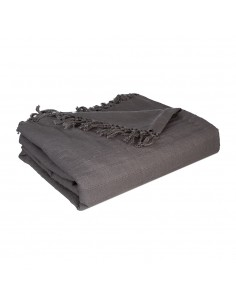 Manta para cama color gris 230x250