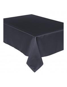 Mantel anti manchas negro 240x140cm