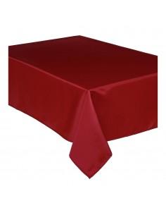 Mantel anti manchas rojo 240x140cm