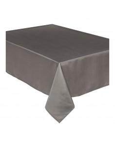 Mantel anti manchas marron 240x140cm