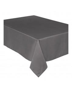 Mantel anti manchas gris 240x140cm