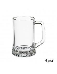 Pack 4 jarras cerveza 32cl