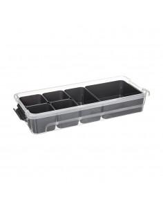 Caja con compartimentos 2.5l modelo samba