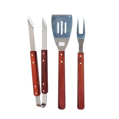 Pack 3 accesorios para barbacoa