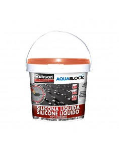 Rubson silicona liquida aquablock 1kg teja