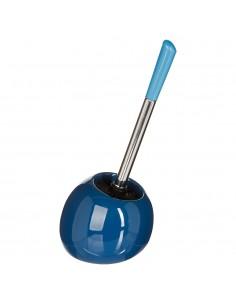 Escobilla wc modelo sun color azul marino