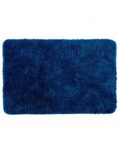 Alfombra para baño color azul marino 60x90cm