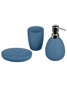 Conjunto para baño modelo sun color azul marino