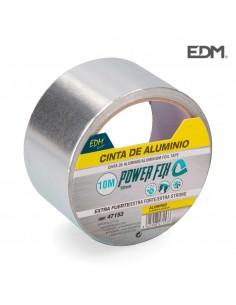 Cinta multiuso de aluminio 10m x 50mm edm