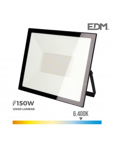 """Foco proyector led  150w 6400k """"black edition"""" edm"""