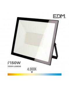 """Foco proyector led  150w 4000k """"black edition""""  edm"""