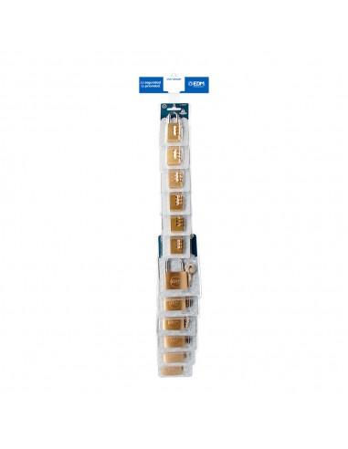 Tira de venta cruzada candados incluye candados ref 85210 12uni , 85247 12 uni