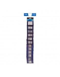 Tira de venta cruzada pilas edm incluye 38500 24 uni, 38501 24uni
