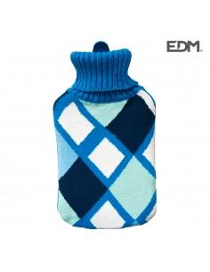Bolsa de agua cuadros colores marinos 2l