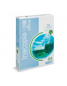 Pack 500 hojas papel dina4 75g