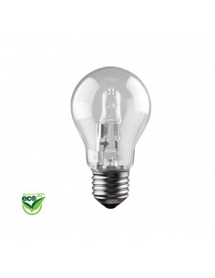 "Bombilla halogena standard ""energy saver"" e27 28w (equ. 40w) clara"