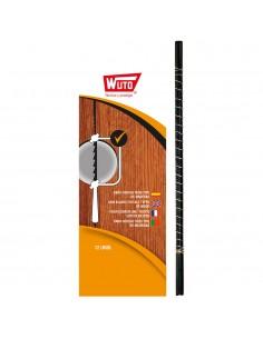 Sierra marqueteria madera 4/13cm blister 12 sierras wuto