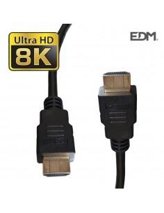 Cable hdmi 2.1 8k 60hz alta calidad 1m