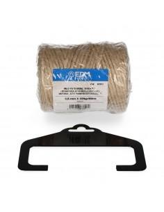 Hilo natural yute biodegradable 3 con bobina 220g/65m