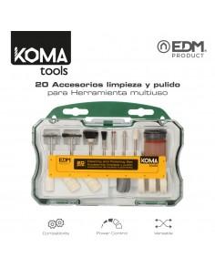 Set 20 accesorios koma tools para 08709 edm
