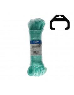 Madeja cuerda plastico 25mt verde