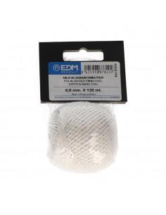 Hilo algodon embutido 50gm/120mt blanco