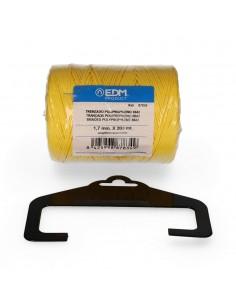 Bobina trenzada polipropileno 8842 200m amarillo