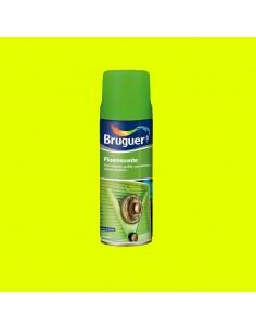 Fluorescente spray amarillo 0.4l bruguer