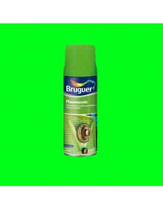 Fluorescente spray verde 0.4l bruguer