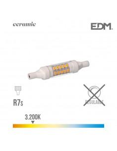 Bombilla lineal led 78mm 5.5w  3200k230v 600 lumens con base ceramica  edm