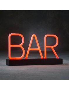 Señal pub de luz de neon