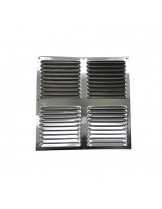 Rejilla plana ventilacion 300x300mm  aluminio extra