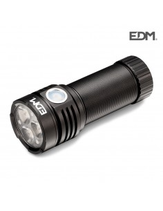 Linterna led flashlight 3 x osram recargable edm