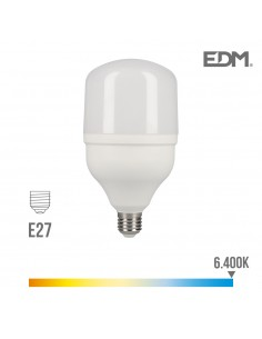 Bombilla led industrial 20w e27 6.400k t80 edm