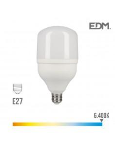 Bombilla led industrial 30w e27 6.400k t80 edm