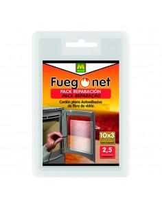 Pack reparacion fuego net cordon plano autoadhesivo de fibra de vidrio 15x3mm 2,5m masso
