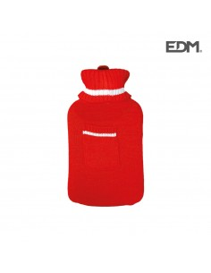 "Bolsa de agua caliente - modelo ""con bolsillo"""" - lana - 2l - edm"