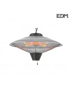 Estufa de cuarzo de exterior - de techo - 2100w - edm