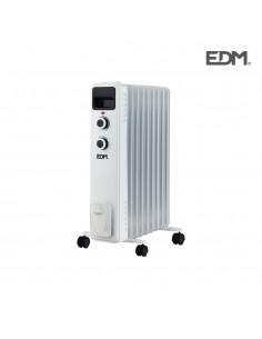 Radiador aceite 9 elementos 2000w tamaño especial edm