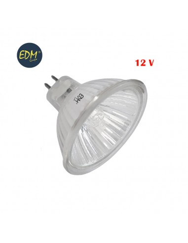 Bombilla halogena dicroica 12v 20w apertura 60º  edm