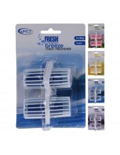 Pack 2 ambientadores para inodoro aromas varias