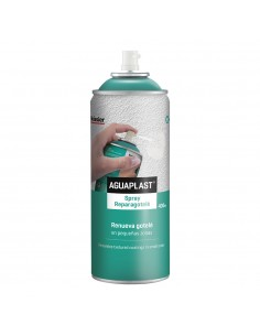 Aguaplast spray repara gotelé. 400 ml.