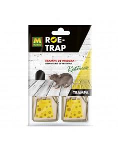 Roe-trap madera ratones