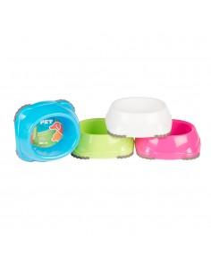 Comedero/bebedero colores surtidos 300ml