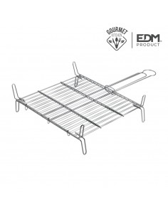 Parrilla doble 45x45 edm