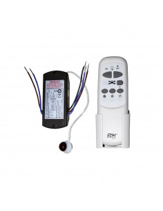 Kit mando a distancia universal para ventilador techo edm