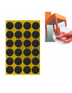 Protec. adhesivo para muebles 17mm 20 uni