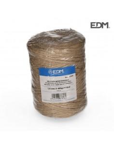 Hilo natural yute biodegradable 3 con bobina 400g/120m