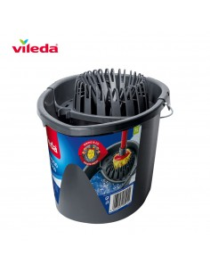 Cubo gris wring and go 161030 vileda