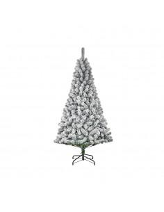 Arbol de navidad efecto escarcha con 398 ramas 185x109cm